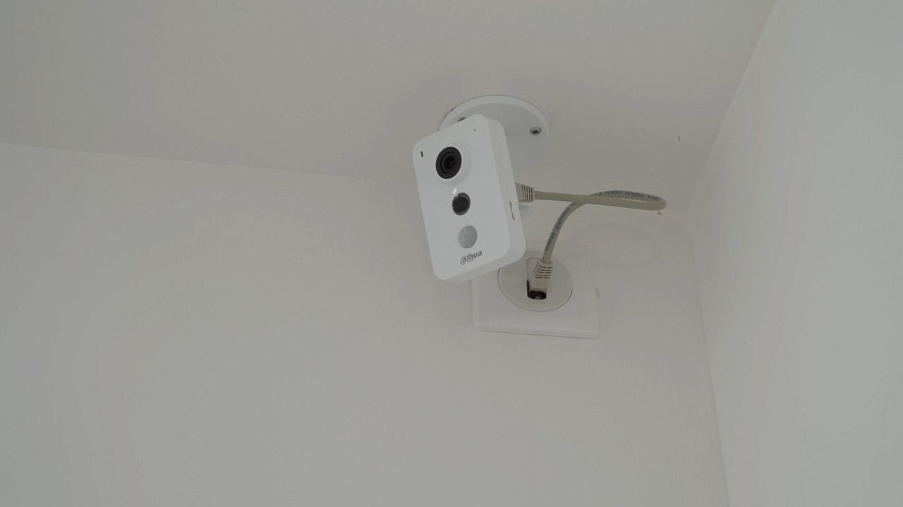caméra de surveillance, électricien à Toulon