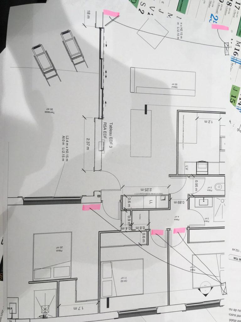 Réalisation de climatisation sur une maison neuve à Ollioules